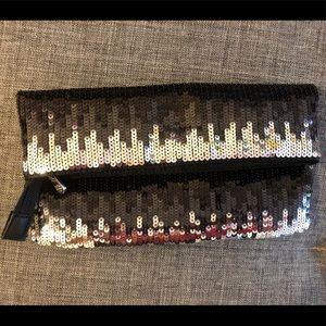 Esprit Collection ombré sequin clutch